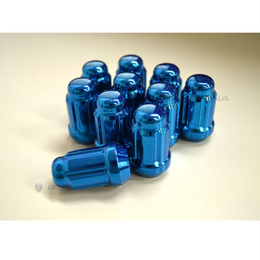 Rohana Spline Color Nuts【Blue(ブルー)】M12×P1.5 or M12×P1.25