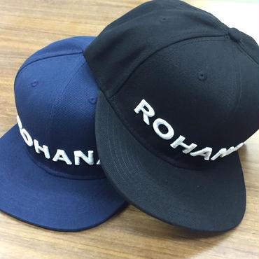 Rohana Baseball Cap(フリーサイズ)2色(ネイビー/ブラック)