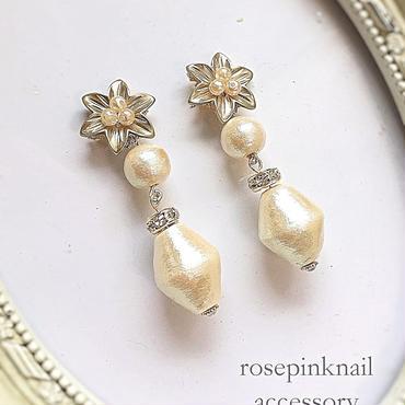 cottonpearl  elegant  flower