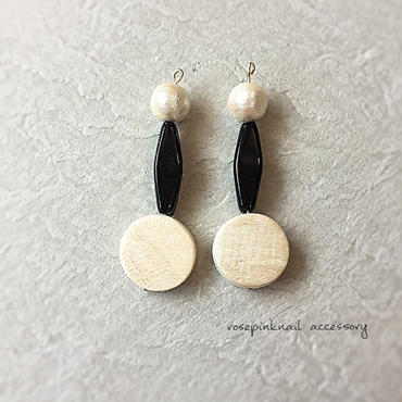 monotone wood pierce