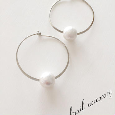 silver  simple  pierce