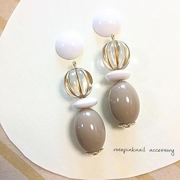 summer beige beads