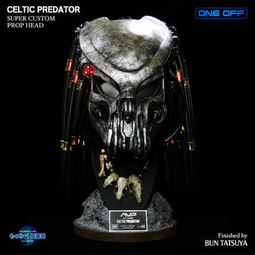 CELTIC PREDATOR HEAD完成品
