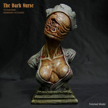 The Dark Nurse Bust 完成品【その3】