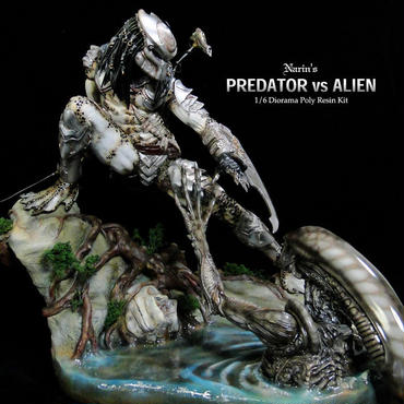 PREDATOR vs Alien 完成品