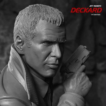 Deckard 1/4scale Bust キット【入荷待ち】