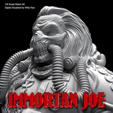 Immortan Joe 1/6scale Kit【7月29日までの予約で10%OFF】