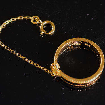 Ring + ゴールド24KGP(刻印入り)