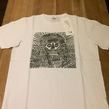 blurhms ブラームス ZigZag Face Tee
