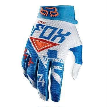 ■ FOX RACING  360グローブ INTAKE  ブルー/ホワイト サイズ・M