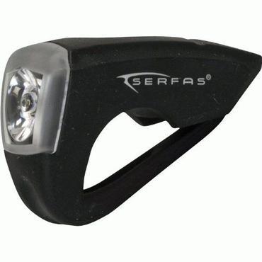 Serfas USL-SBK  シリコンヘッドライト  LED