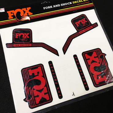 FOX 2016 FORK & SHOCK DECAL KIT ヘリテージ デカールキット