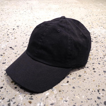 CHAMPION BRUSHED COTTON CAP - BLACK