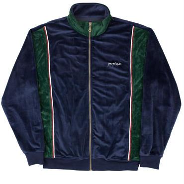 YARDSALE Blue/Emerald green velour tracktop