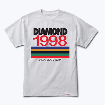 Diamond Supply Co. NINETIES TEE-WHITE