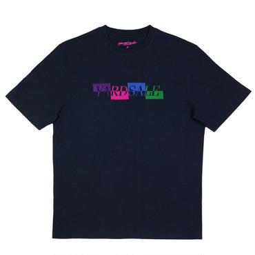 YARDSALE Late-night navy panel T-shirt
