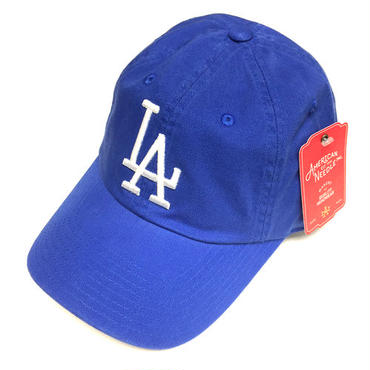 AMERICAN NEEDLE MLB 6PANEL CAP LOSANGELES DODGERS- BLUE/WHITE