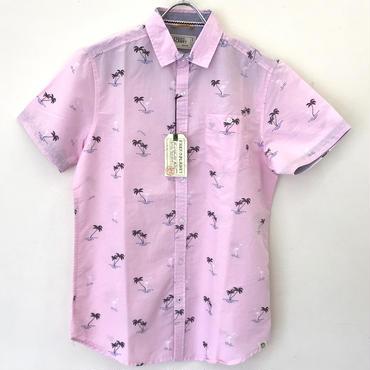 FREE PLANET S/S SHIRT-PINK