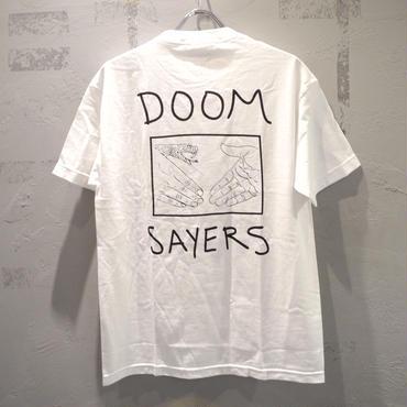 DOOM SAYERS Snake Shake Pocket Tee - White ドゥームセイヤーズ  Tシャツ ホワイト