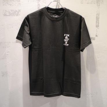 BUTTER GOODS FTW T SHIRT - BLACK バター グッズ FTW Tシャツ ブラック
