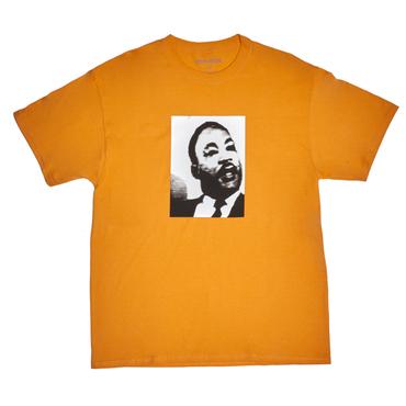 FUCKING AWESOME MLK Tee-Peach