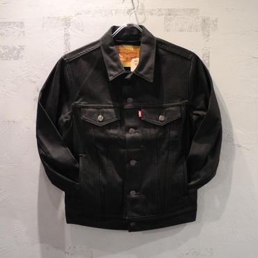 LEVI'S 72334 0157 TRUCKER DENIM JACKET - POLISHED BLACK リーバイス トラッカー デニム ジャケット ブラック