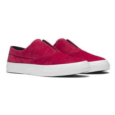 HUF Dylan Slip On Shoes-Deep Red