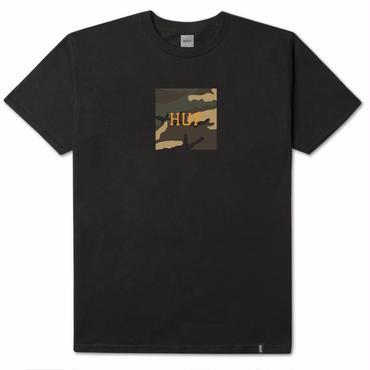 HUF AMBUSH CAMO BOX LOGO S/S TEE-BLACK
