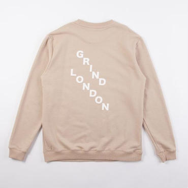 GRIND LONDON SQUAD SWEATSHIRT-SAND