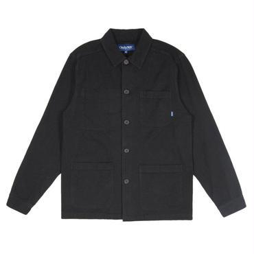 ONLY NY Canvas Chore Coat-Black