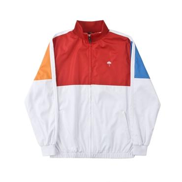 HELAS RUSH TRACKSUIT JACKET - WHITE/RED