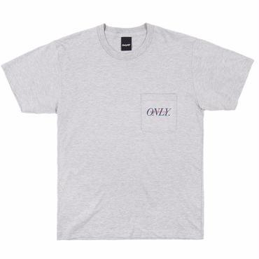 ONLY NY Midtown Pocket T-Shirt-Heather Grey