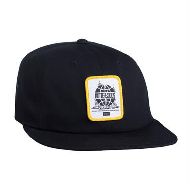 HUF X BUTTER GOODS FEELS LIKE HOME 6 PANEL - BLACK