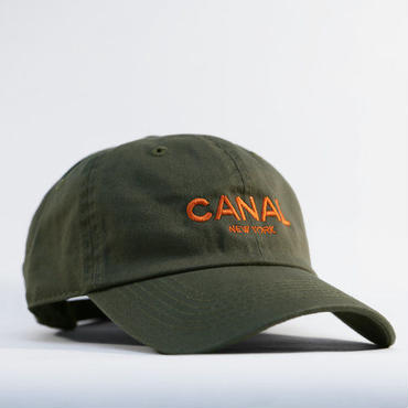 "CANAL NEWYORK ""Adult Headwear"" cap - Olive/Orange"