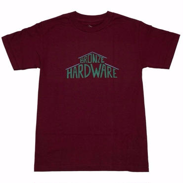 BRONZE 56K HOUSE TEE-BURGUNDY
