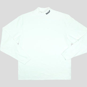 BELIEF CONNECT MOCK NECK - WHITE