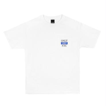 ONLY NY Marathon Pocket T-Shirt-White
