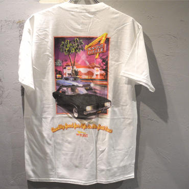 IN-N-OUT BURGER 2004 FRESH AND FAST CALIFORNIA T shirt -White