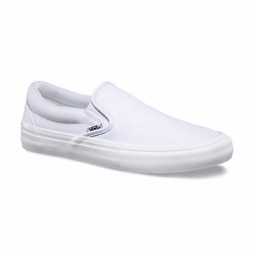 VANS SLIP-ON PRO -WHITE/WHITE