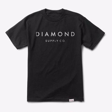 Diamond Supply Co. STONE CUT TEE-BLACK