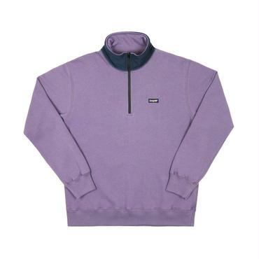 ONLY NY Logo Quarter Zip Pullover-Lavender