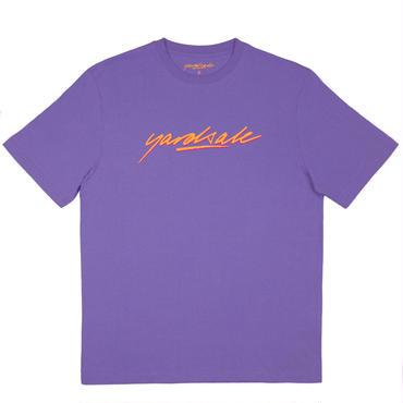 YARDSALE Carolina blue script Tshirt