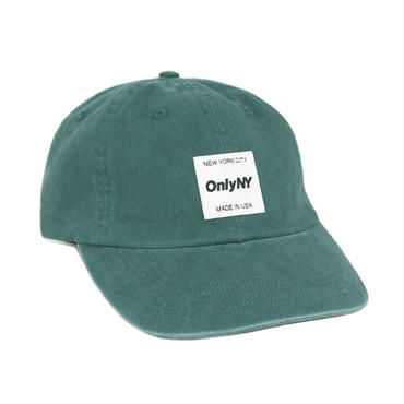 ONLY NY Messenger Polo Hat - Dark Green