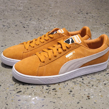 PUMA SUEDE CLASSIC Burnt Orange-Puma White