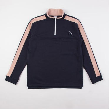 GRIND LONDON REVERSE TRIM TRACK TOP - NAVY