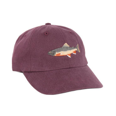 ONLY NY Brook Trout Polo Hat - Maroon