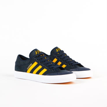 adidas skateboarding MATCHCOURT X HARDIES Navy Yellow White