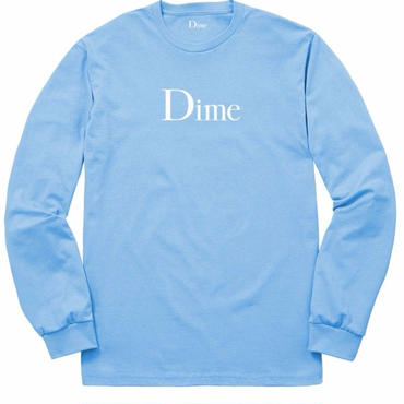 Dime DIME CLASSIC LONG SLEEVE T-SHIRT-Blue