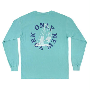 ONLY NY Newport L/S T-Shirt-Teal-