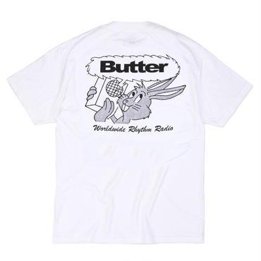 BUTTER GOODS RADIO TEE, White